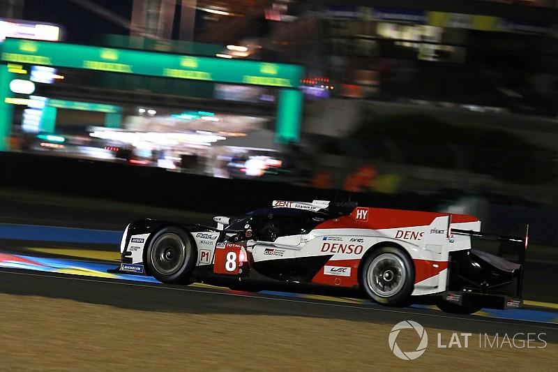 Le Mans 24 saat: Nakajima, geçici olarak pole pozisyonunda