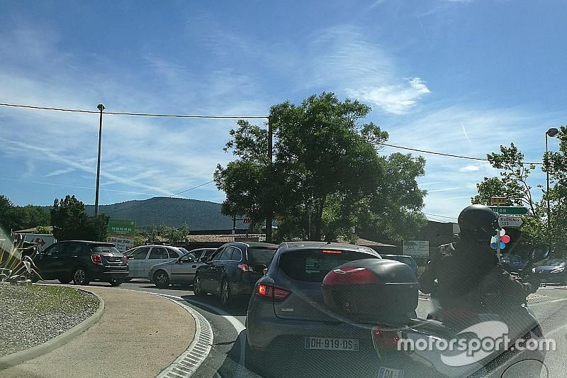 GP de France : embouteillages et polémique
