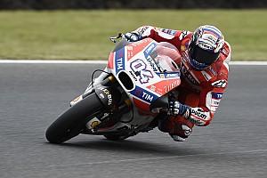 MotoGP Crónica de test Dovizioso lidera el primer ensayo libre en Sepang