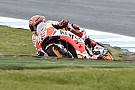 MotoGP Australian MotoGP: Marquez fastest in wet warm-up