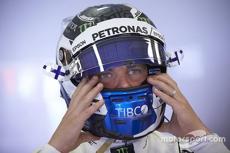 Bottas akan start dari belakang di GP Belgia