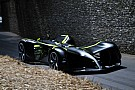 Roborace Roborace car completes Goodwood hillclimb