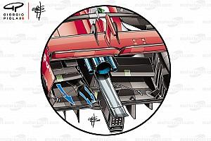 Formel-1-Technik: Ferraris Tunneltrick am Unterboden