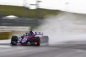 Toro Rosso mostró una primera imagen de su F1 de 2018