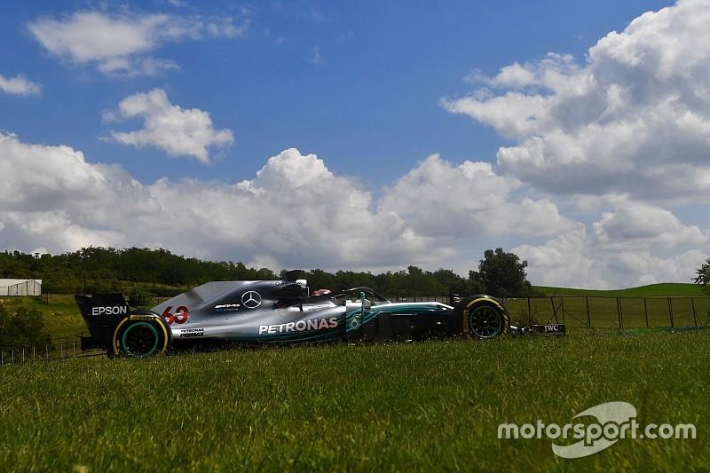 亨格罗林测试第二日:拉塞尔创造最快时间,再刷非官方赛道纪录
