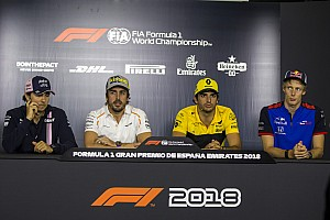 Formula 1 Press conference Spanish GP: Thursday's press conference