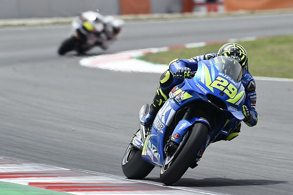 MotoGP Iannone frustrated by Suzuki tyre drop-off