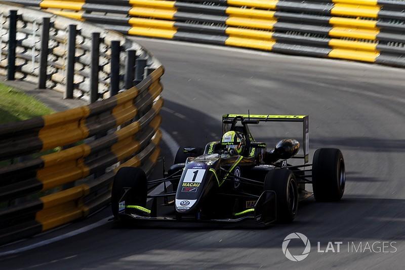 Lando Norris in pole provvisoria al GP di Macao di Formula 3