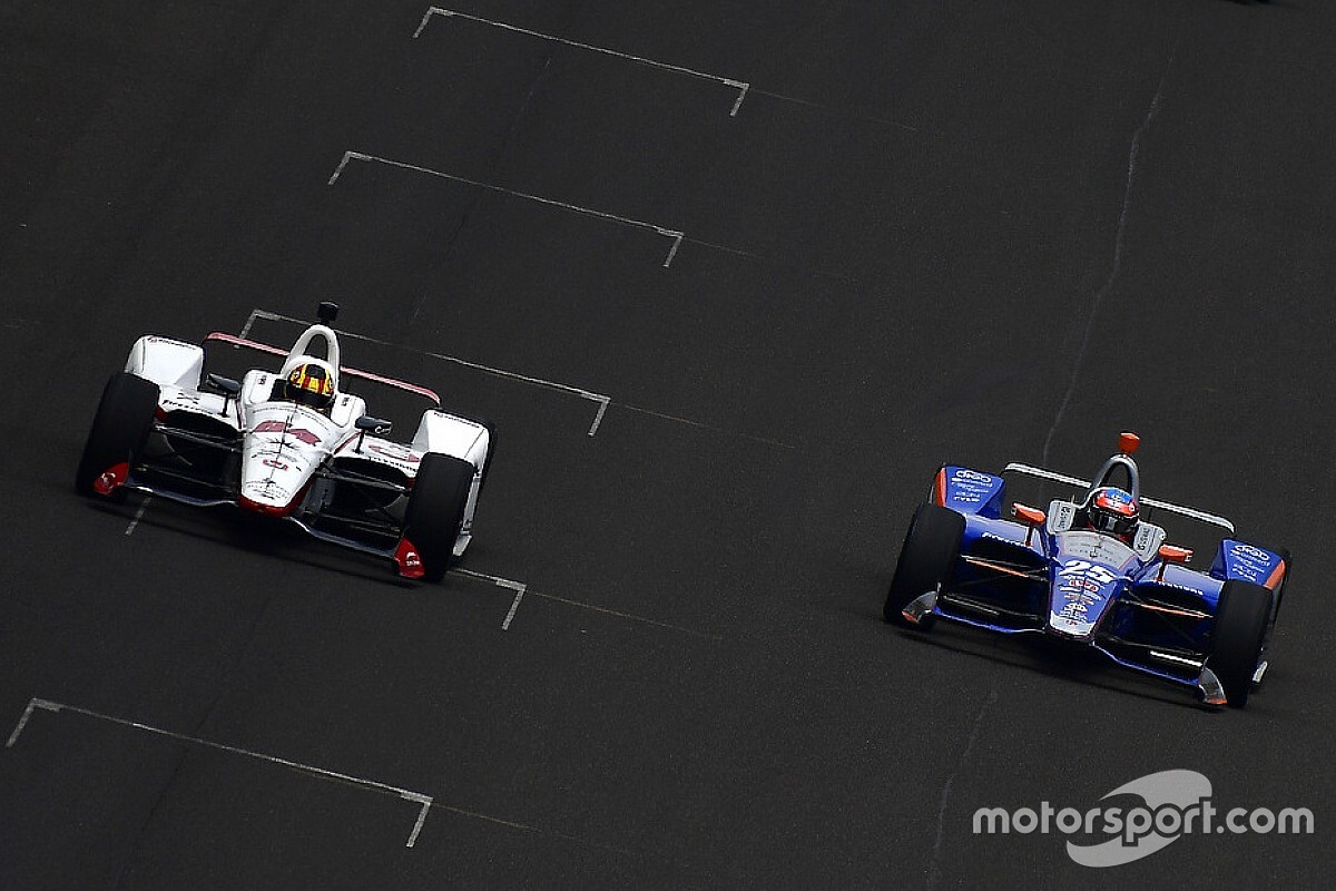 Servià sobre sus 46 adelantamientos en Indy 500: