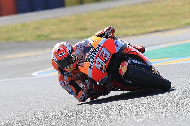 Le Mans, Warm-Up: Marquez fa paura a tutti con la gomma dura
