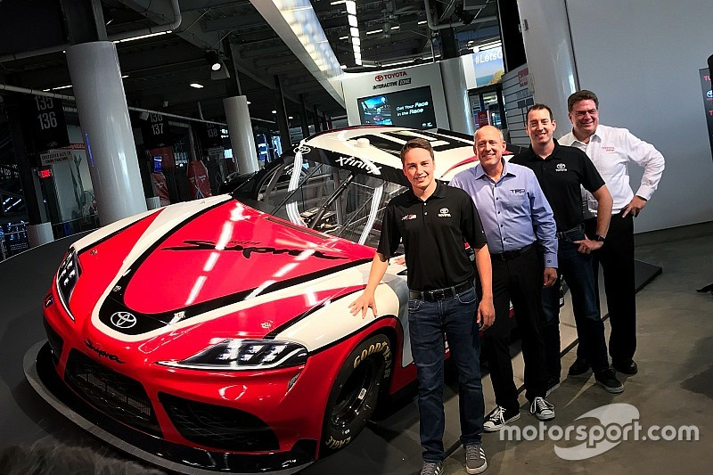 Toyota unveiled its new NASCAR Supra, now comes the harder part