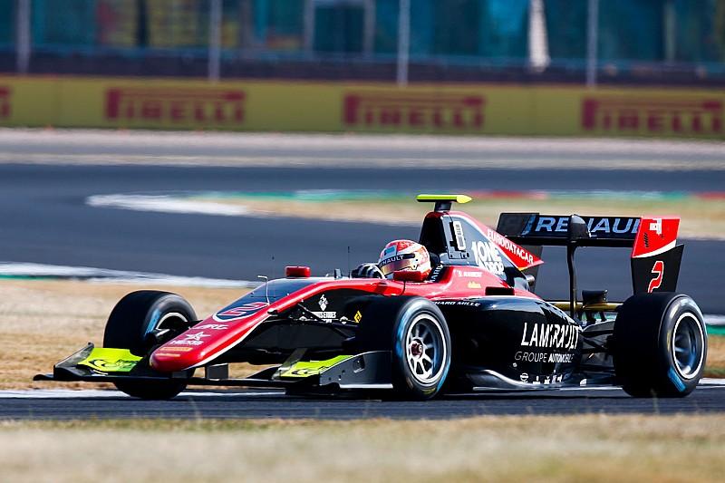 GP3 Silverstone: Hubert verzilvert pole met tweede seizoenszege