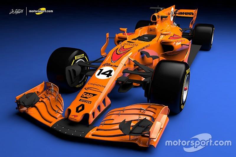 ¿El nuevo McLaren será completamente naranja?