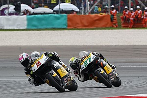 Moto2 Interview WM-Punkte für beide Fahrer vom Team Garage Plus Interwetten