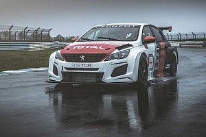 WTCC Breaking news Peugeot unveils new 308TCR for 2018 WTCR season