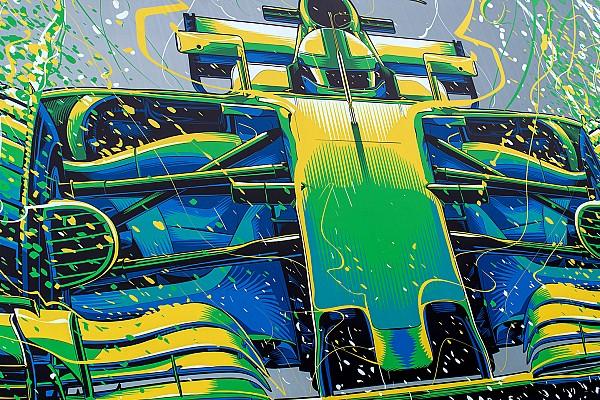 Формула 1 Самое интересное Гоночное художество. Что рисовали на трассах Ф1 в сезоне-2017