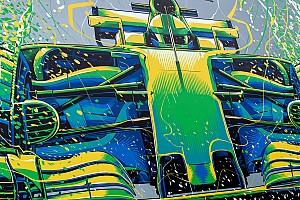 F1 Top List Galería: Arte en las carreras, las pintadas de la F1 en la temporada 2017
