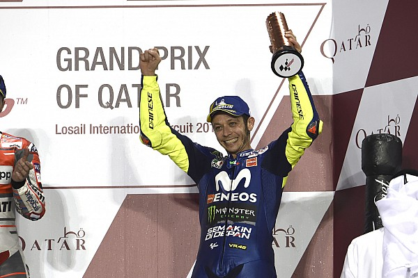 MotoGP Breaking news Rossi: Qatar podium shows I'm not too old to keep racing