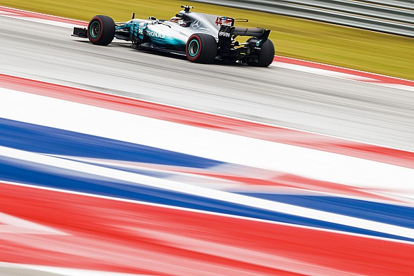 F1 速報ニュース F1アメリカ:ハミルトン首位。フェルスタッペンが0.3秒差で2番手