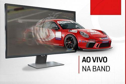 Porsche Cup retorna para a TV aberta com corridas ao vivo na Band em 2021