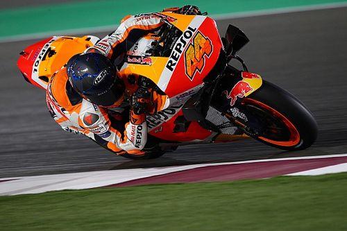 ポル・エスパルガロ、RC213V初乗りに「KTMとはぜんぜん違う!」初日内容には満足げ|MotoGPカタールテスト