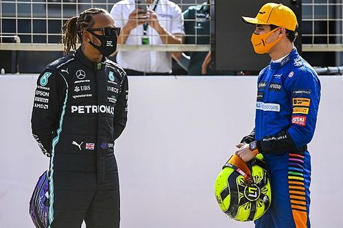 How Hamilton has lifted Norris' F1 self-belief: on and off track