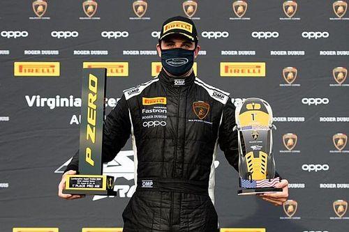 Leo Lamelas vence no Lamborghini Super Trofeo após conquistar duas poles na Virgínia