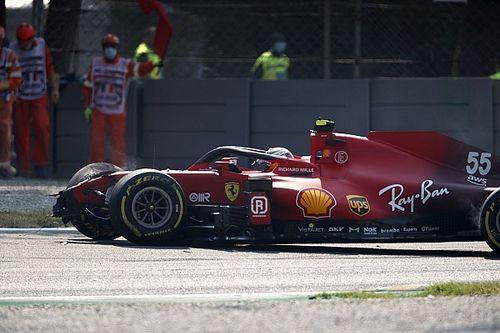 """Sainz : L'accident de Monza """"ne se reproduira pas de sitôt"""""""