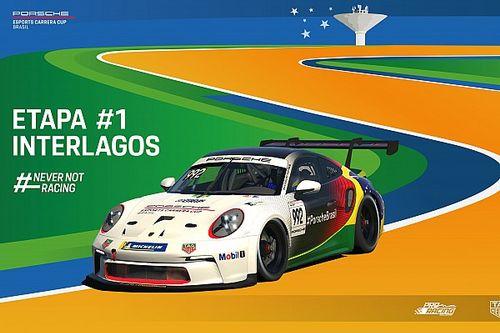 Porsche Esports Carrera Cup abre temporada em Interlagos e estreia o Porsche 911 GT3 Cup 992 em um campeonato virtual