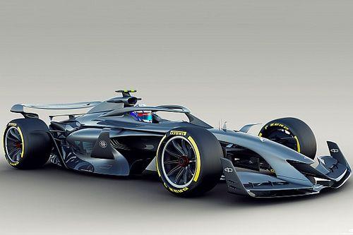 Формула 1 показала первый прототип машины 2021 года