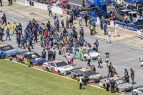 VIDEO: El apoyo de NASCAR a Wallace ante acto de racismo en Talladega