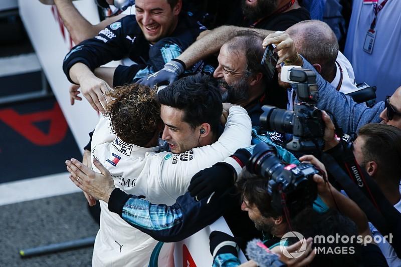 Cette fois-ci, le doublé est souriant pour Mercedes!