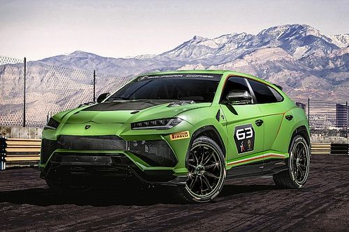 Lamborghini präsentiert neue Urus-SUV-Rennserie für die Saison 2020