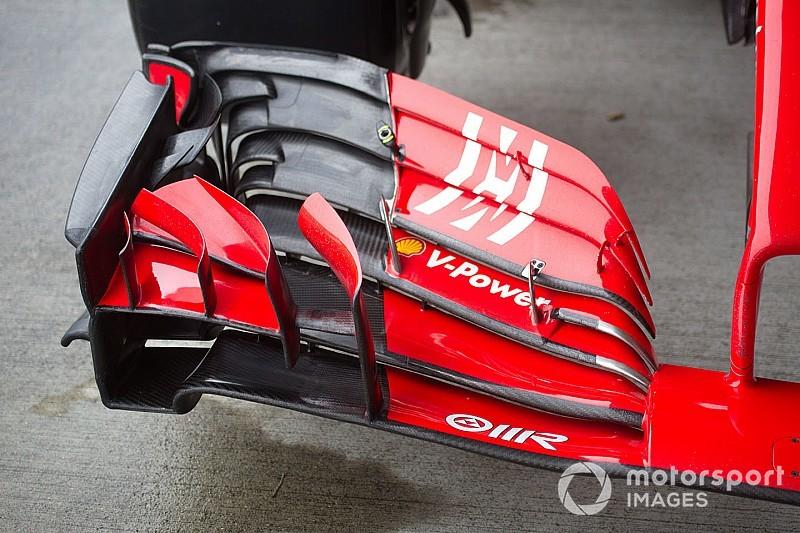 GP van Japan: De laatste tech updates, rechtstreeks uit de paddock