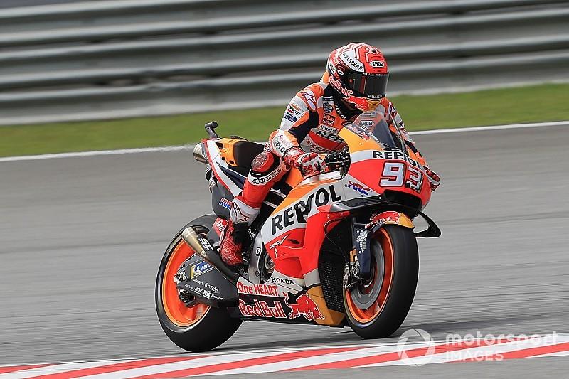 MotoGP in Sepang: Marc Marquez auf Pole, neue Startzeit am Sonntag