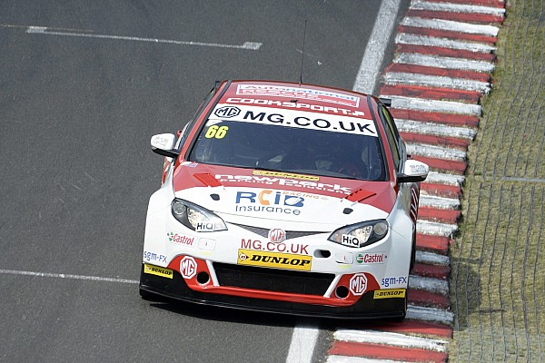 BTCC Cook announces Triple Eight MG exit
