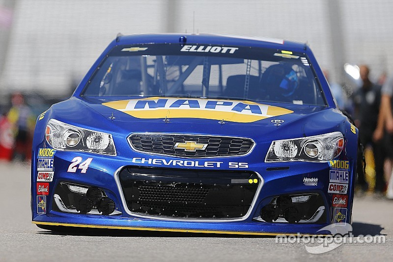 Rookie Chase Elliott quickest in final Cup practice
