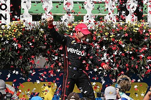 IndyCar Race report Power wins Pocono as Pagenaud crashes
