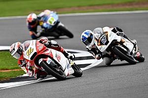 Moto3 レースレポート 尾野弘樹「レース後半はフロントブレーキだけで走る状態になった」:Moto3イギリス