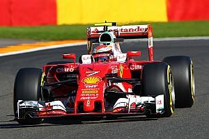Formula 1 Practice report Belgian GP: Raikkonen quickest in FP3, problems for Verstappen