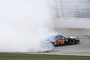 Dale Jr. wants NASCAR to crack down on tire-shredding victory burnouts