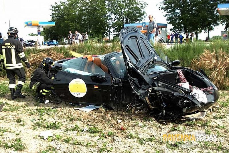 Mille Miglia:  grave incidente nel Ferrari Tribute con quattro feriti