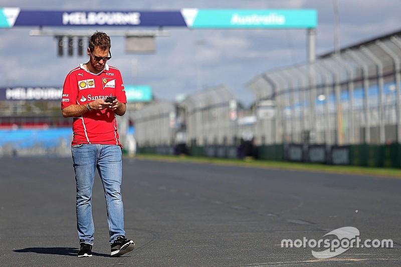 """Vettel: """"Por ahora no sabemos nada"""""""