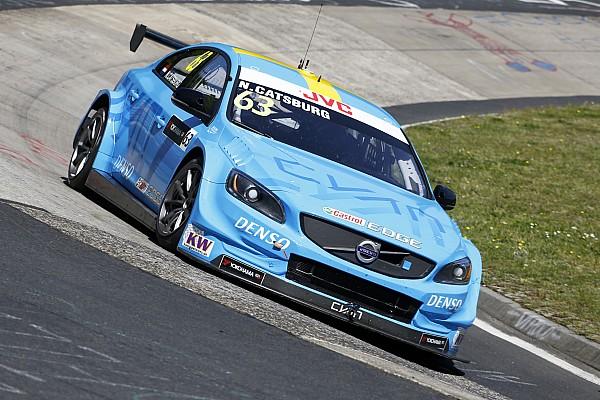 WTCC Nieuws WTCC Nürburgring: Lekke banden baren Catsburg zorgen na test