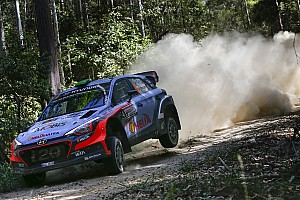 WRC Stage report Australia WRC: Charging Paddon eats into Mikkelsen's lead