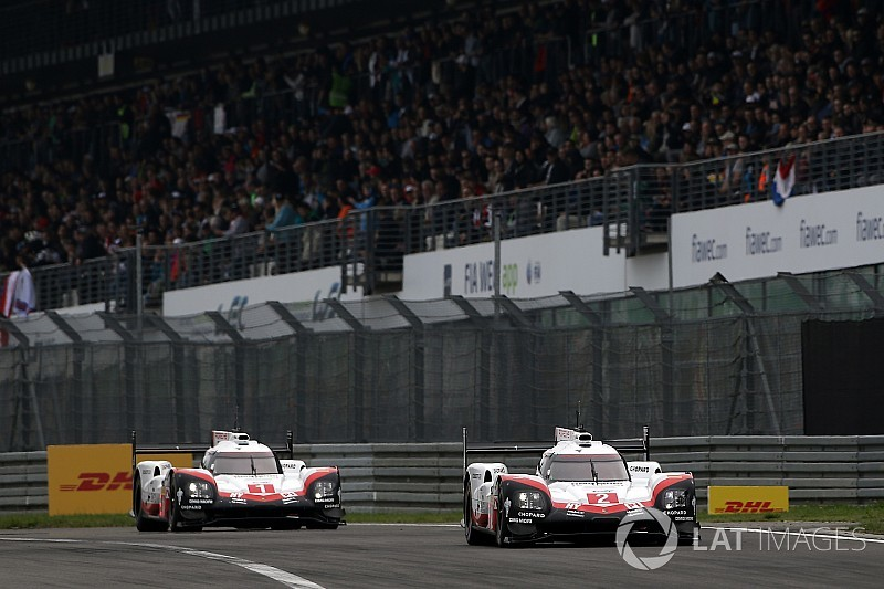 WEC 6h Nürburgring: Bernhard/Bamber/Hartley gewinnen Porsche-Duell