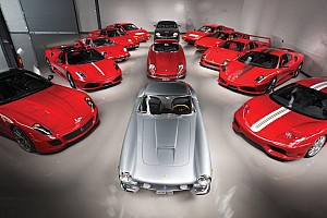 Auto Actualités 400 photos d'une incroyable collection Ferrari!