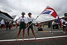 Grid Girls inglesas barbarizam GP da Grã-Bretanha