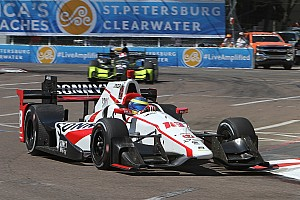 IndyCar Race report St Pete IndyCar: Bourdais wins season opener from back of the grid