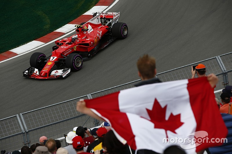 Räikkönen finaliza con el mejor del viernes en Canadá